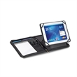 Partner Leather Tablet Stand E-Padfolio - Leather tablet stand E-padfolio with removable Velcro insert.