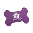 "Dog Bone Shaped Vinyl Mat - 19"" x 13"" vinyl mat shaped like a dog bone that's washable, reusable and made in the USA."