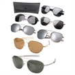 G.I. Type Pilot's 58 mm Aviator Sunglasses - Blank pilot's 58 mm aviator sunglasses.