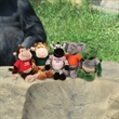 "Chelsea (TM) Plush Wild Bunch Animals - Animal toy, 11"", sitting size is 7""."