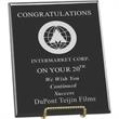 Farmington Plaque - This award features a hand rubbed piano wood finish. Pre-drilled to be hung.