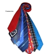 Neckties Custom - Ties can be fully custom or can be a stock tie embroidered if quantity needed is lower than minimum.