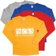 Long Sleeve Shirt - New long sleeve, high quality 100% cotton t-shirt.