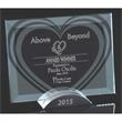 Heart Prisma - This award is made of glass.
