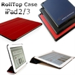 RollTop iPad 2/3/4 case with SmartCase Technology - Ipad 2/3/4 case with Smartcase Technology.