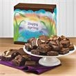 Spring Morsel 24 - 24 bite-sized gourmet brownies in six different flavors are individually wrapped for freshness.