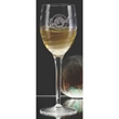 "Romantica White Wine Glass - Set of 4 - Set of four 8.5"" tall Romantica 9.5-ounce lead free, break-resistant red wine glasses with swirl optics. Machine blown in Italy."