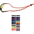 "3/8"" Dual-Use Stretchy Elastic Polyester Trade Show Lanyard - 3/8"" stretchable elastic polyester lanyard that doubles as an eyewear retainer."