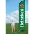 15ft Flutter Flags with Ground Stake-single - 15ft Flutter Flags with Ground Stake-single