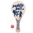Wooden Paddleball Game - Wooden paddleball game.