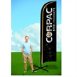 11ft Swooper Flag with X Stand-Double - 11ft Swooper Flag with X Stand-Double