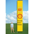 14ft Wind Flag with Ground Stake-single - 14ft Wind Flag with Ground Stake-single