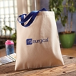 """Canvas Day Tote - Canvas tote bag with 17"""" straps."""