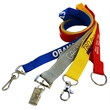 Polyester Lanyard with Plastic Attachment
