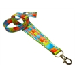 "USA made Lanyards - 3/4"" Full color sublimation"