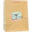 """Natural Kraft Euro Rope Handle Bag - Natural Kraft Euro Rope Handle Bag. 10"""" width x 5"""" x 12"""" height."""