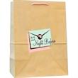 """Natural Kraft Euro Rope Handle Bag - Natural Kraft Euro Rope Handle Bag. 10"""" width x 5"""" x 8.25"""" height."""