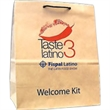 "Natural Kraft Euro Rope Handle Bag - 100% Recycled & Certified Natural Kraft Euro Rope Handle Bag. 13"" width x 7"" x 12.25"" height."