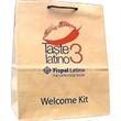 """Natural Kraft Euro Rope Handle Bag - Natural Kraft Euro Rope Handle Bag. 13"""" width x 7"""" x 13"""" height."""