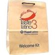 """Natural Kraft Euro Rope Handle Bag - Natural Kraft Euro Rope Handle Bag. 13"""" width x 7"""" x 16"""" height."""