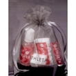 Women's Gift Set - Women's gift set including Sanitizer, Lip Gloss, Hair-Tie, and Peppermints in an Organza Bag.