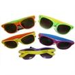 Neon Two Tone party shades - Sunglasses, multi color bright assortment