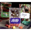 Seasonal Patterned Cellophane Gift Bag with Candy Fill - Seasonal patterned cellophane gift bag with your choice of candy fill.