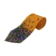 Polyester custom logo wet dyed adult neck tie - Polyester custom logo wet dyed neck tie