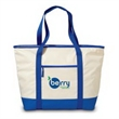 Big Chill Insulated Tote - Insulated shopping tote/cooler with large capacity, shoulder strap with padded grips and zippered front pocket.