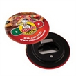Magnetic Bottle Opener Button - Magnetic bottle opener button with four-color process imprint.