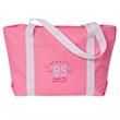 Beach Comber Tote Bag - Tote bag with drop down zipper top and shoulder length webbing handles.