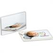 Credit Card Dental Floss - Credit card dental floss with 25 yards of floss and attached mirror on back