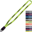 "5/8"" Polyester Lanyard w/ Snap-Buckle Release & O-Ring - 5/8"" Polyester lanyard with plastic snap-buckle release and o-ring."