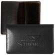 Alpine Card Case (Cowhide) - Sueded full grain leather card holder with suede lining.