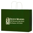 "Color Gloss Paper Shopper Bags - Foil Stamp - Color Gloss Paper Shopping Bag with Twisted Paper Handles (16""x6""x13"") - Foil Stamp"