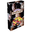 Customizable Oval Box Packaging with Jelly Beans Candy - Jelly Beans candy in custom die cut oval candy box packaging.