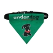 "Woven pet collar bandanna set - 6.5"" x 7.5"" triangular polyester pet collar-bandana sets with side release buckle, slide adjuster and D-ring hardware."