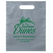 "Die Cut Fold-Over Reinforced Plastic Bag - Flexo Ink - Fold-Over Reinforced Plastic Die Cut Bags (15""x19""x3"") - Flexo Ink"