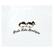 "Die Cut Fold-Over Reinforced Plastic Bag - Flexo Ink - Fold-Over Reinforced Plastic Die Cut Bags (16""x13"") - Flexo Ink"