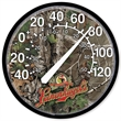 "12.75"" Thermometer - Thermometer with durable polystyrene case, 12.75"" diameter."