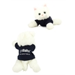 """8"""" Sugar Too Cat with t-shirt and one color imprint"""