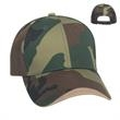 Camouflage Wave Sandwich Cap - Camouflage wave sandwich cap, 6 panel, medium profile., 100% brushed cotton twill.