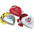 Large Heart Shaped Tin - Large heart shaped tin with candy filler available.