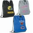 Jersey Sweatshirt Drawstring insulated cooler Bag - Jersey sweatshirt drawstring bag keeps your lunch hot or cold for 4 - 6 hours.