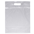Zip Closure Die Cut Handle Bag - Plastic Bag