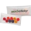 1/2 oz. 4 Color Bag of Printed Candy - Chewy Sprees - This 1/2 oz. bag is filled with printed Chewy Sprees