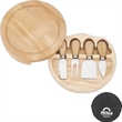 Swivel Cheese Board Set - Swivel cheese board set. Includes hard and soft cheese knives, spatula and more