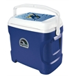 Igloo Contour 30 Cooler (Majestic Blue) - Contour 30 majestic blue cooler, 30 quarts / 41 cans capacity.