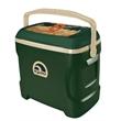 Igloo Contour 30 (Hunter Green & Tan) - Contour 30 hunter green & tan cooler, 30 quarts / 41 cans capacity.