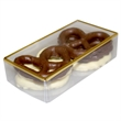 Golden Favorites Pretzel Box with Chocolate Covered Pretzels